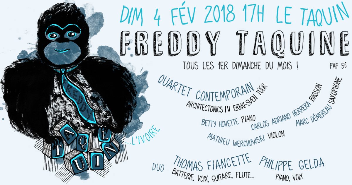 événement facebook Freddy Taquine